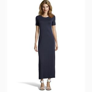 THEORY - Navy Maxi Dress